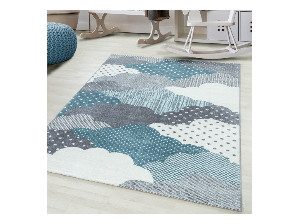 Dětský koberec Bambi 820 blue