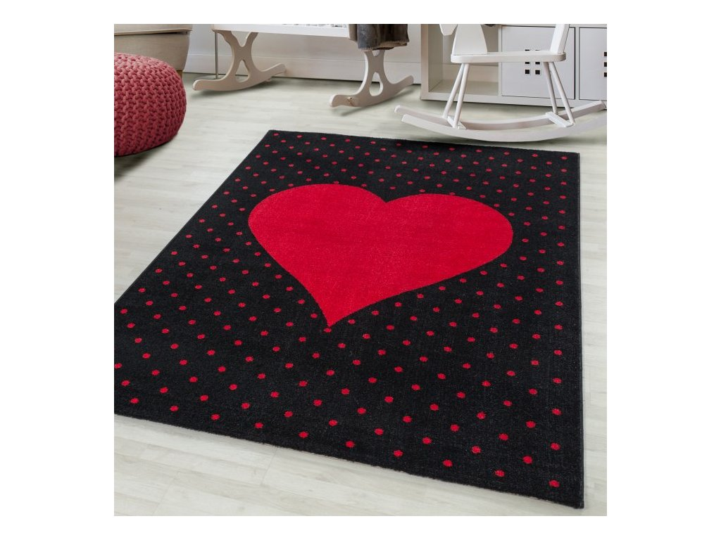 Dětský koberec Bambi 830 red