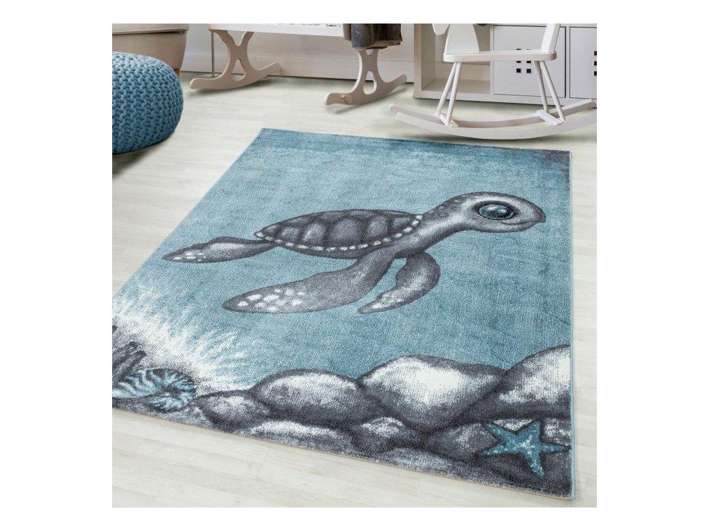 Dětský koberec Bambi 860 blue