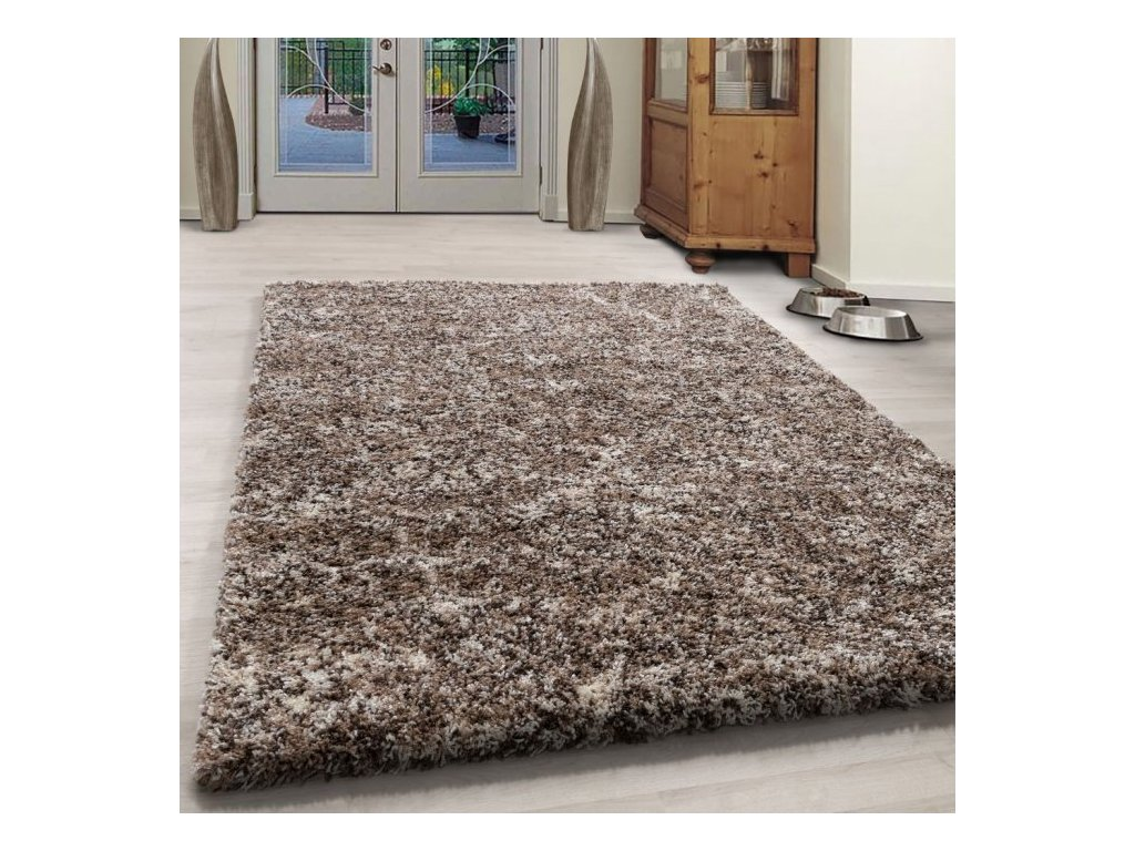 Kusový koberec Enjoy shaggy 4500 beige