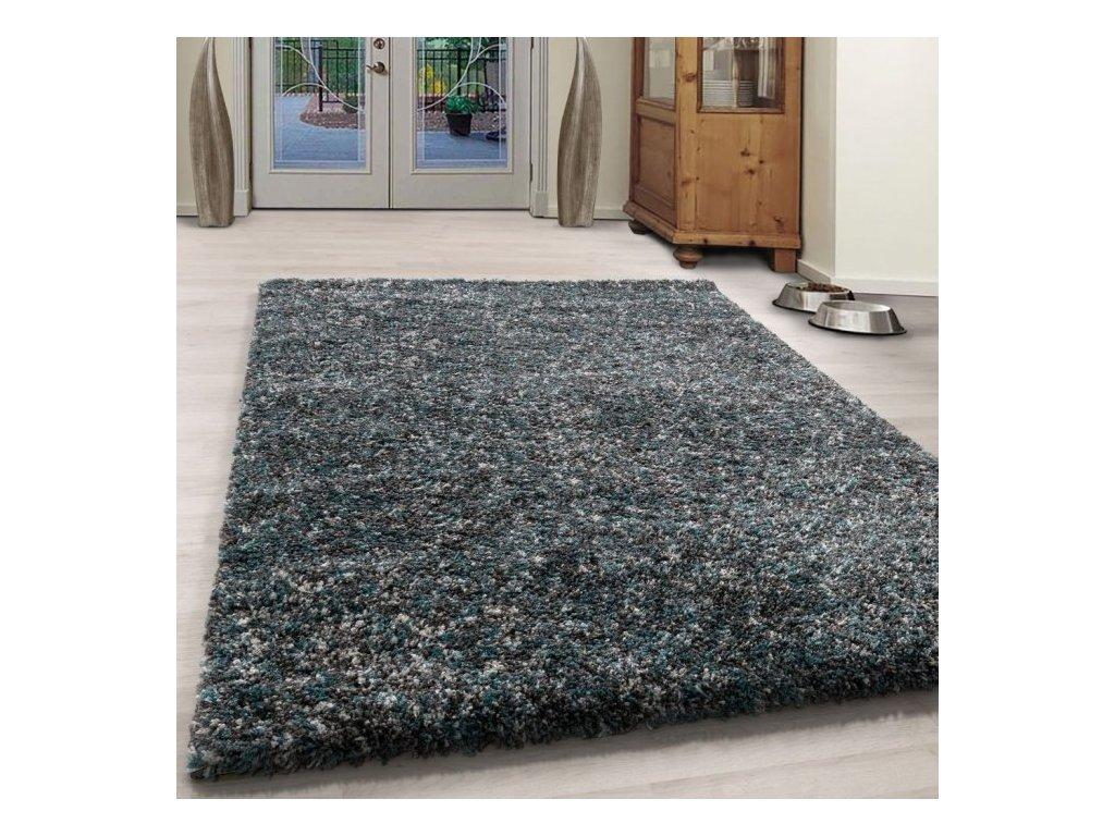 Kusový koberec Enjoy shaggy 4500 blue