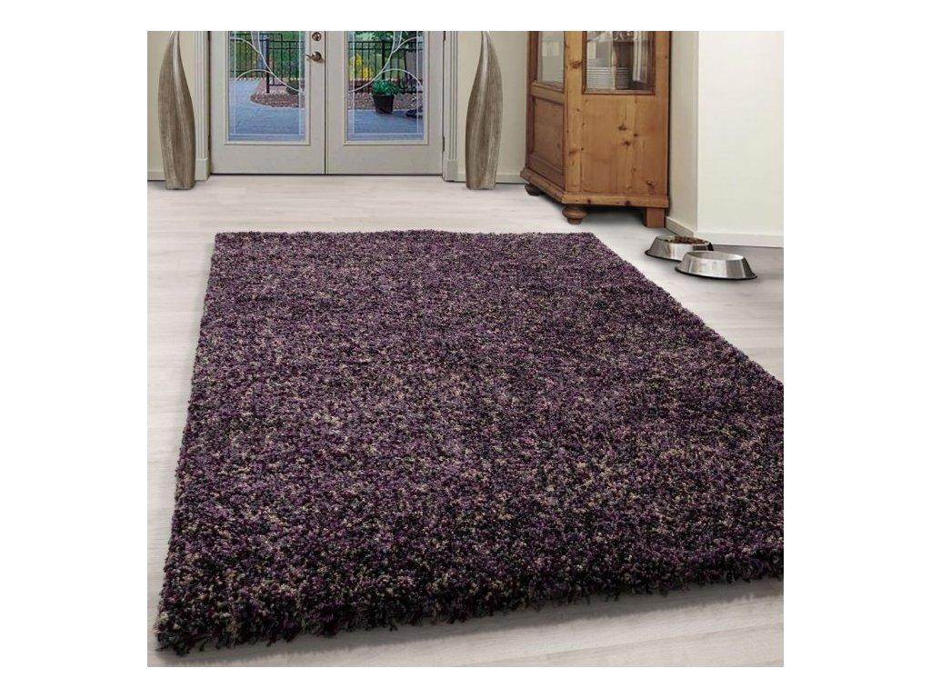 Kusový koberec Enjoy shaggy 4500 lila