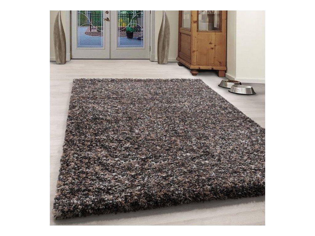 Kusový koberec Enjoy shaggy 4500 taupe