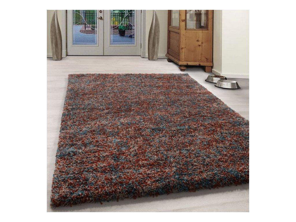 Kusový koberec Enjoy shaggy 4500 terra
