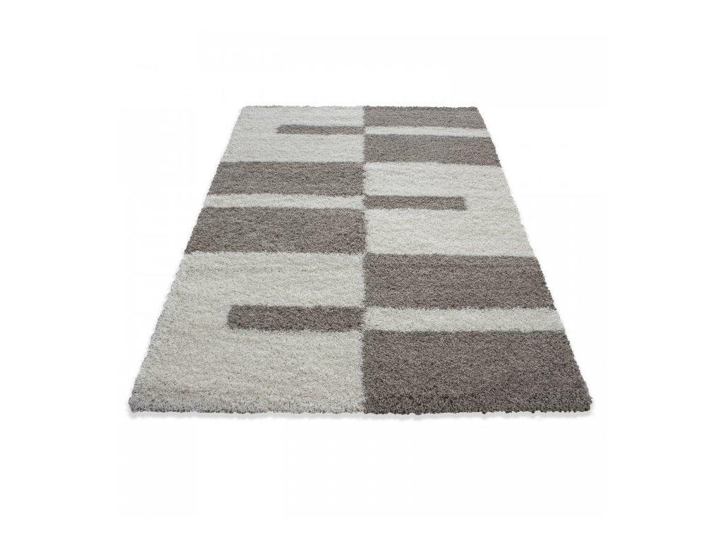 Kusový koberec Gala shaggy 2505 beige