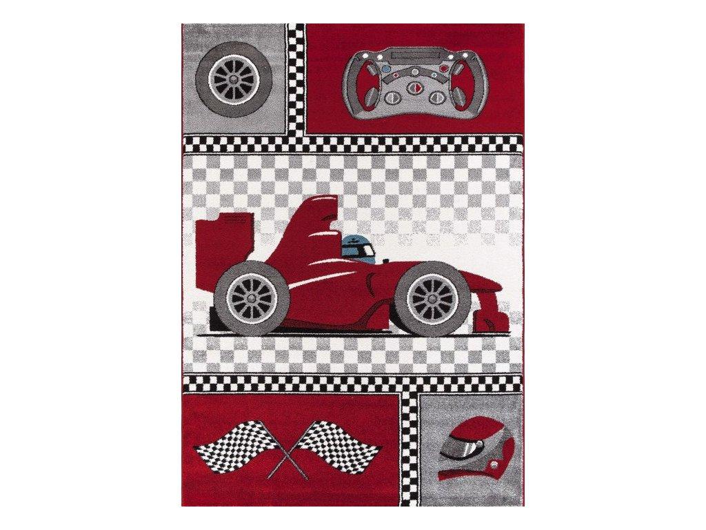 Dětský koberec Kids 460 red
