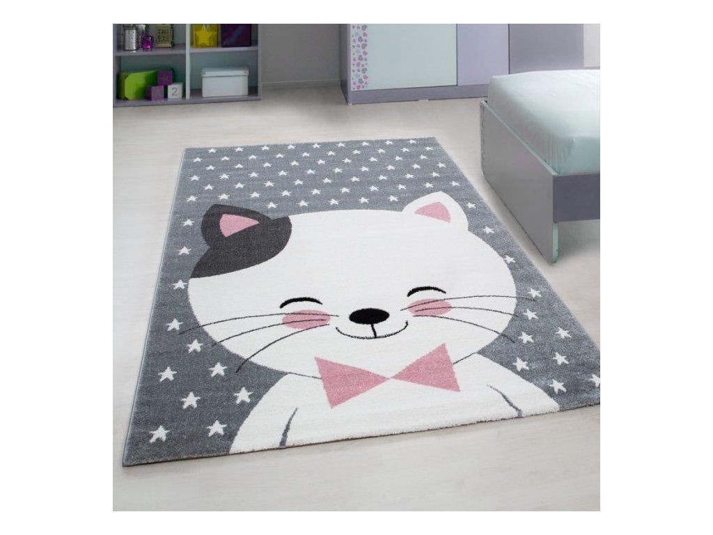 Dětský koberec Kids 550 pink