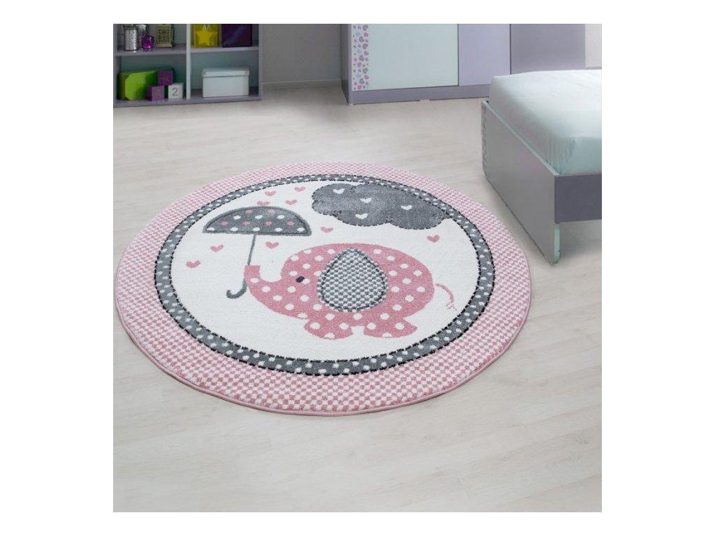 Dětský koberec Kids 570 pink