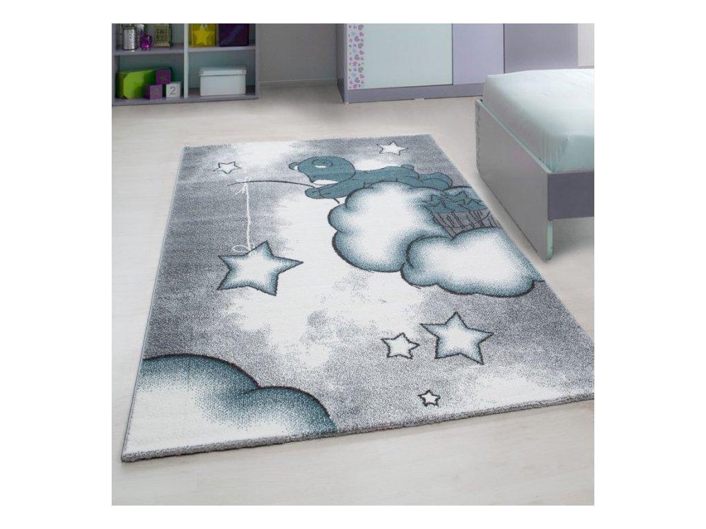 Dětský koberec Kids 580 blue