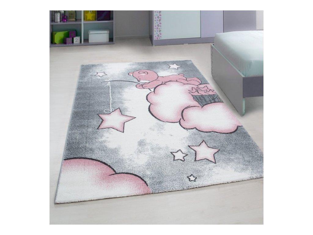 Dětský koberec Kids 580 pink
