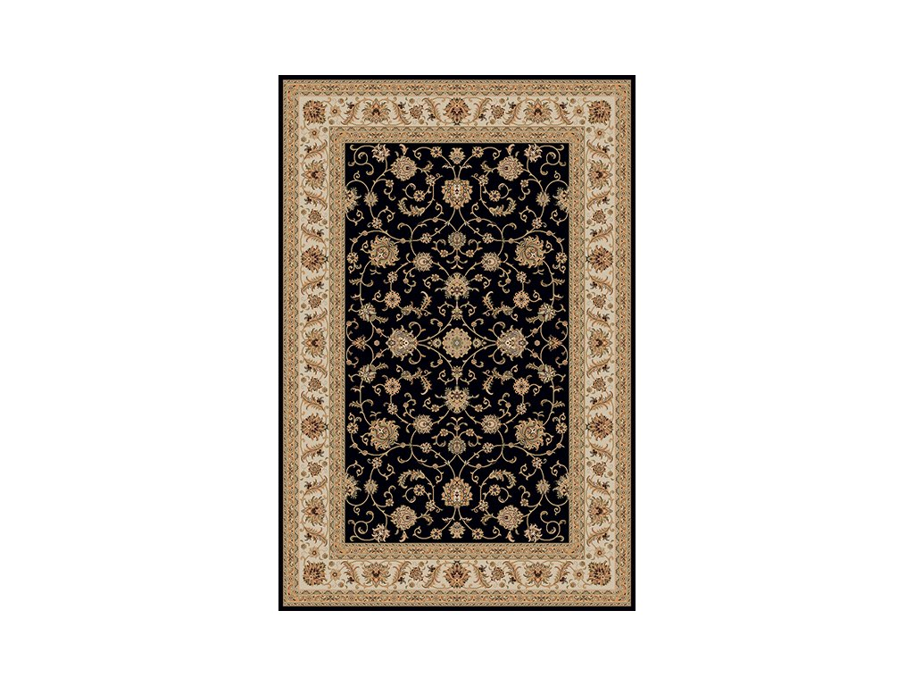Kusový koberec Marrakesh 0210 black