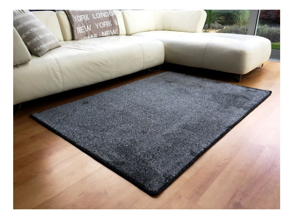 Kusový koberec Apollo Soft antraciet