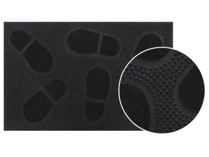 gumova rohoz na boty 36 5 x 58 cm cerna