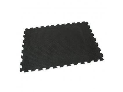 Gumová podlahová zátěžová rýhovaná rohož Strong - 120 x 80 x 2 cm