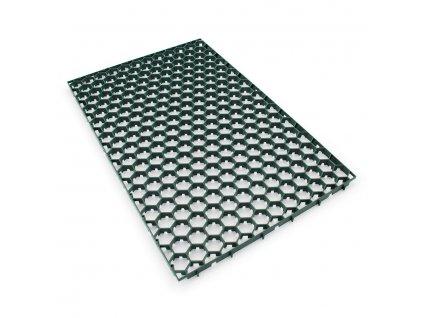 Zelená plastová zatravňovací dlažba Linea Salvaprato - 115,7 x 75,4 x 3 cm