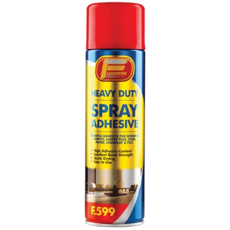 F599 HD 500 ml - lepidlo na koberce a PVC ve spreji