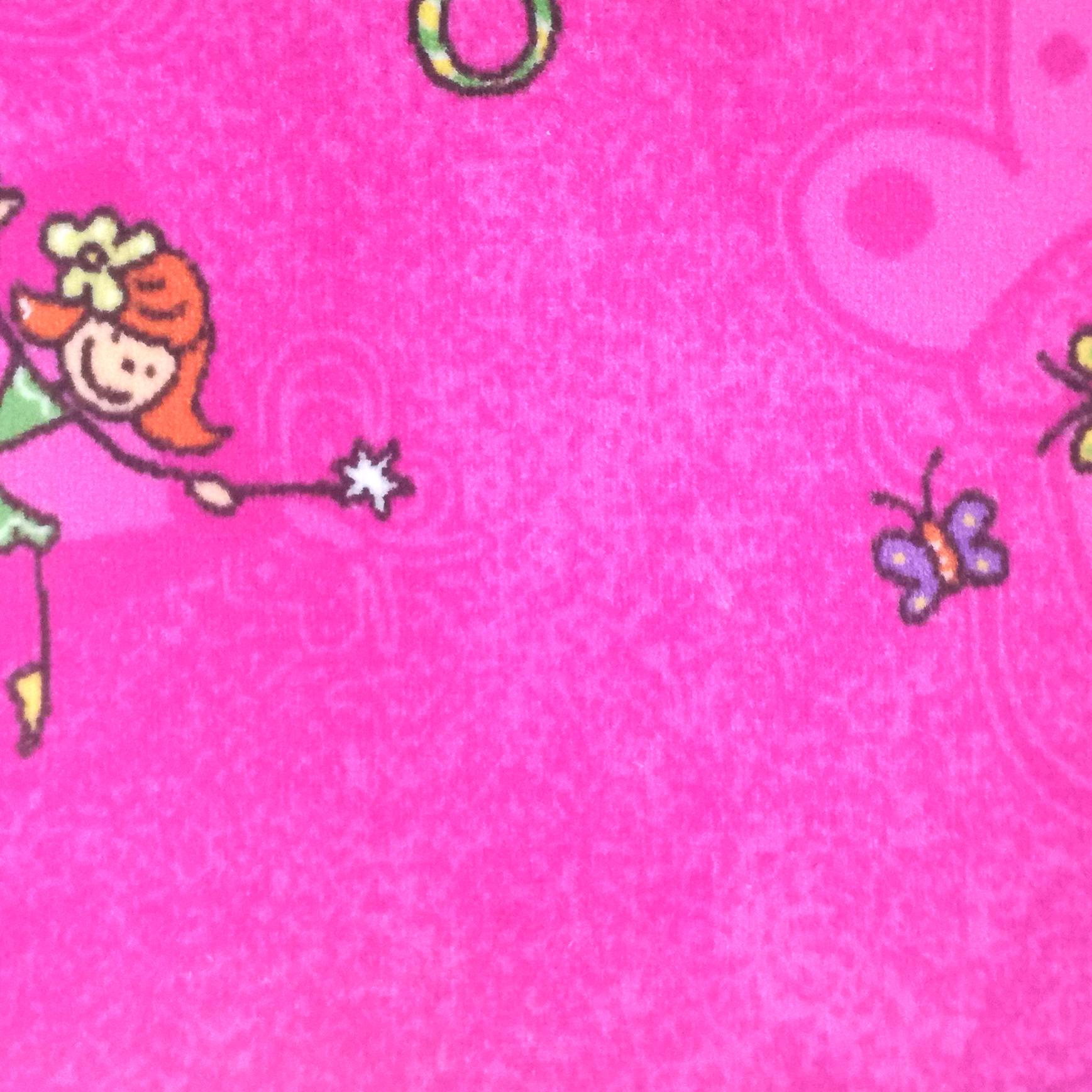 Dětský koberec Taniny 5230 růžový Šíře role: 4 m