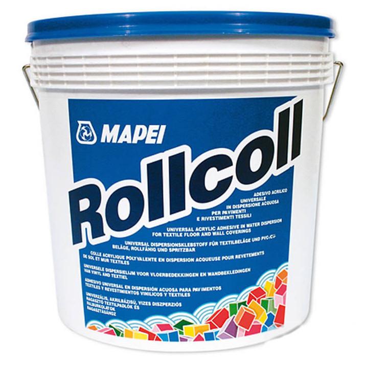 Lepidlo na PVC a koberce Rollcoll Váha: 5 kg