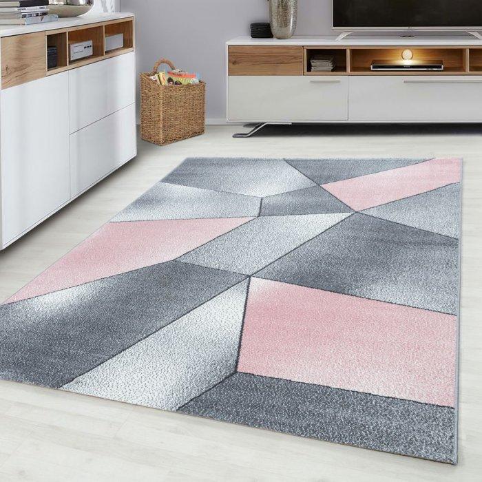 Kusový koberec Beta 1120 pink Rozměr: 200x290 cm