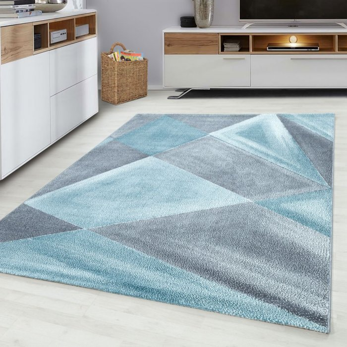 Kusový koberec Beta 1130 blue Rozměr: 80x150 cm
