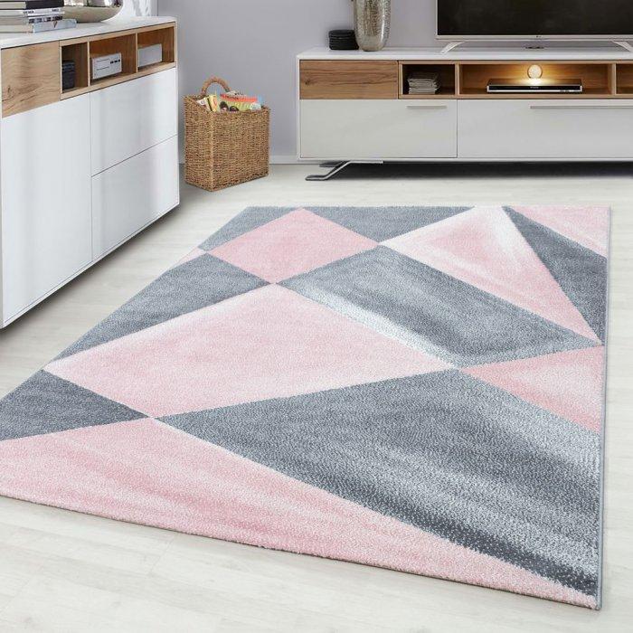 Kusový koberec Beta 1130 pink Rozměr: 80x150 cm
