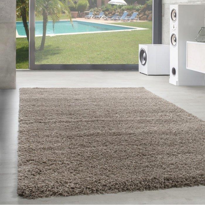 Kusový koberec Dream Shaggy 4000 beige Rozměr: 60x110 cm
