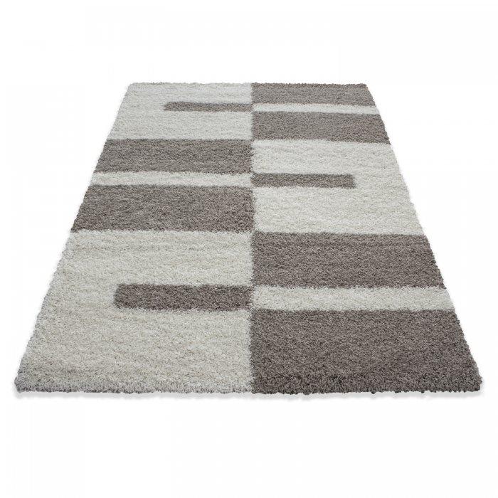 Kusový koberec Gala shaggy 2505 beige Rozměr: 100x200 cm