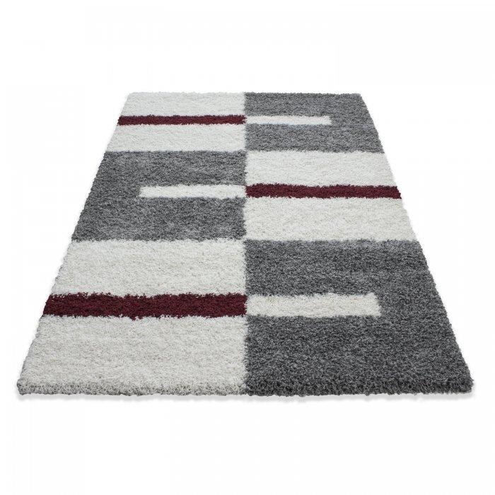 Kusový koberec Gala shaggy 2505 red Rozměr: 100x200 cm