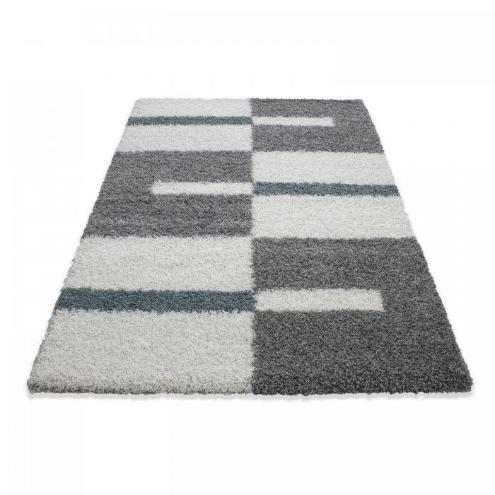 Kusový koberec Gala shaggy 2505 turkis Rozměr: 100x200 cm