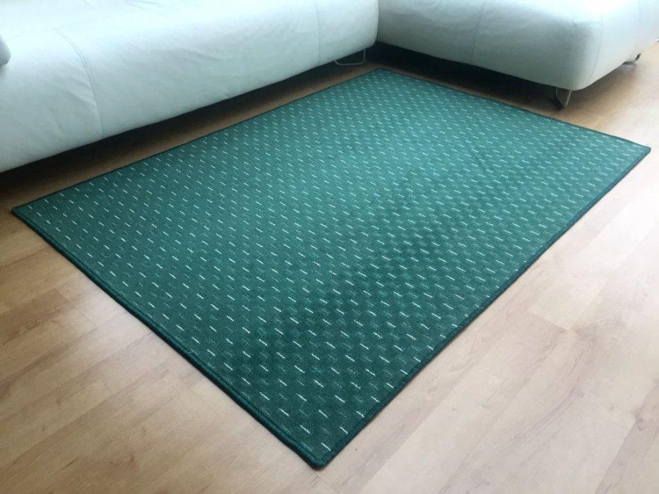 Kusový koberec Valencia zelená Rozměr: 80x150 cm