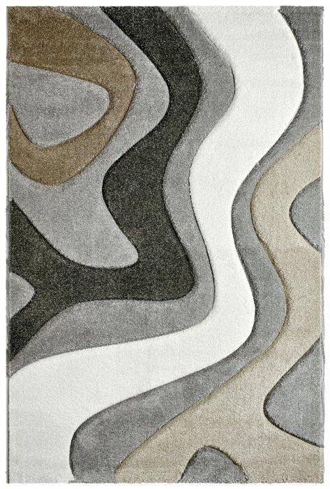 Kusový koberec Acapulco 680 silver Rozměr: 80x150 cm