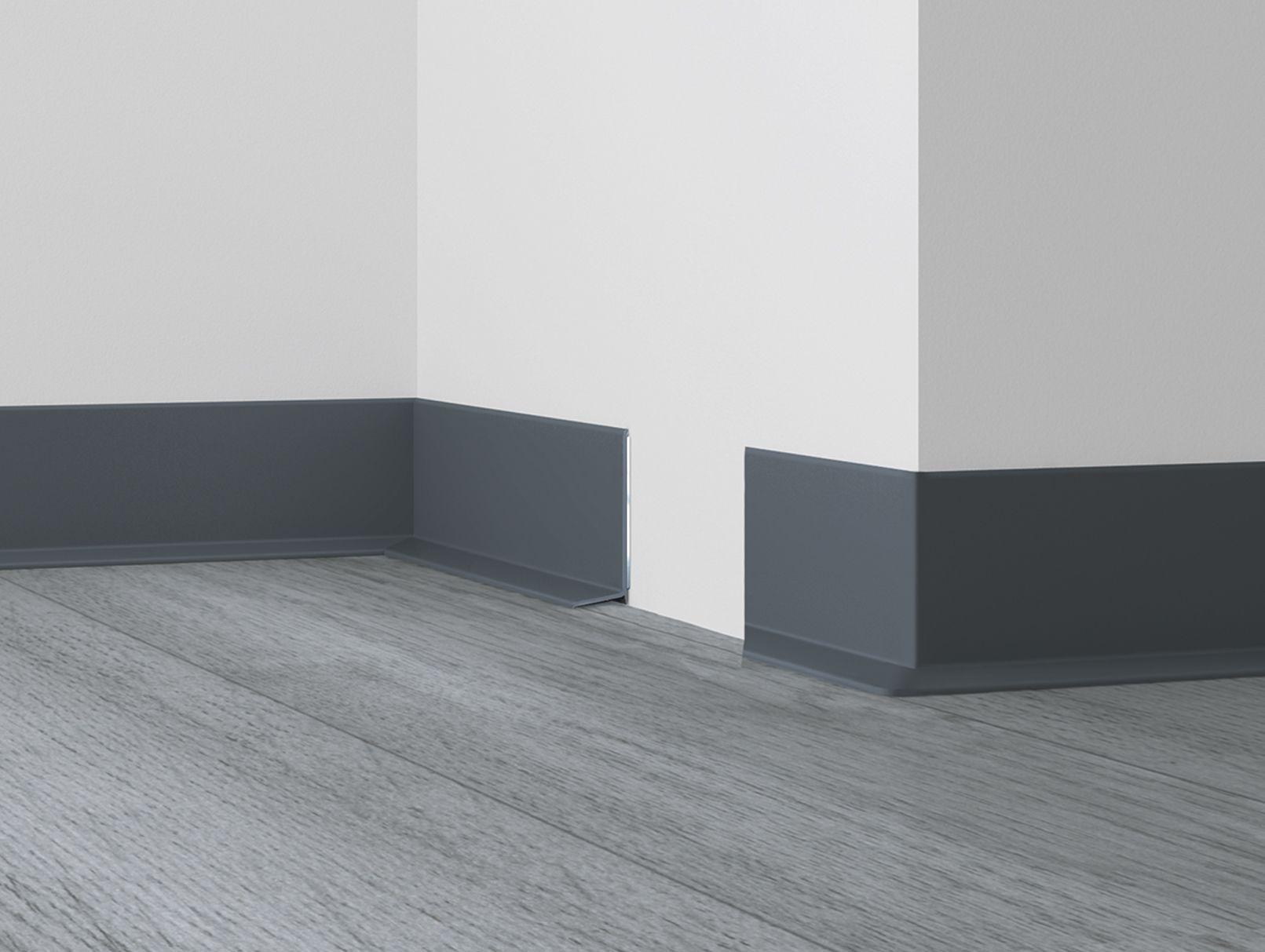 WLK 50 obvodová lišta k PVC samolepící Barva: 1137 (117) bílá