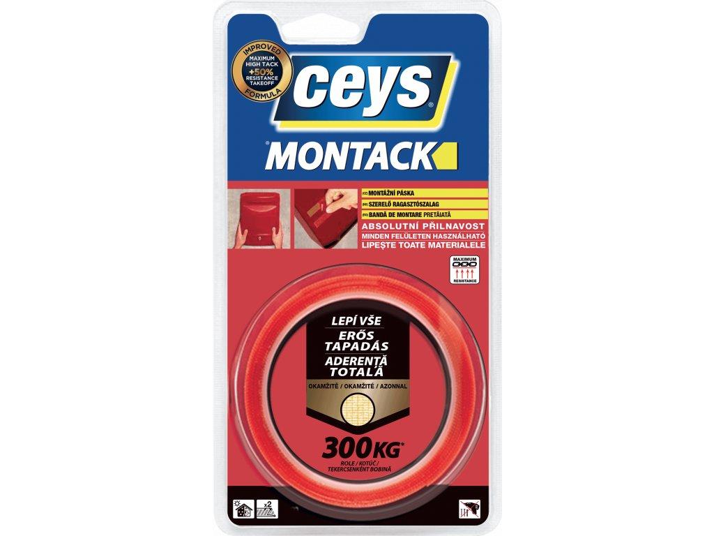 Ceys Montack paska lepi okamzite