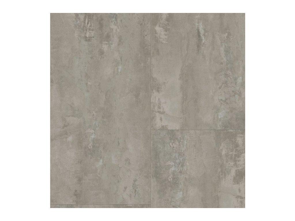 Vinyl A1 TARKO CLIC 55 V EIR 57159 Beton hrubý šedý detail
