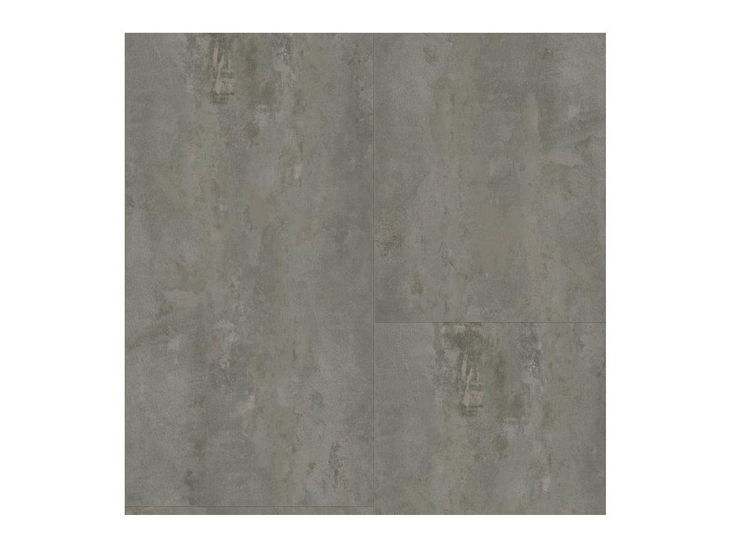 Vinyl A1 TARKO CLIC 55 V EIR 57160 Beton hrubý tmavě šedý detail