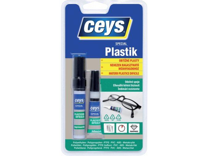 SPECIAL PLASTIK na obtížné plasty 3g 4 ml