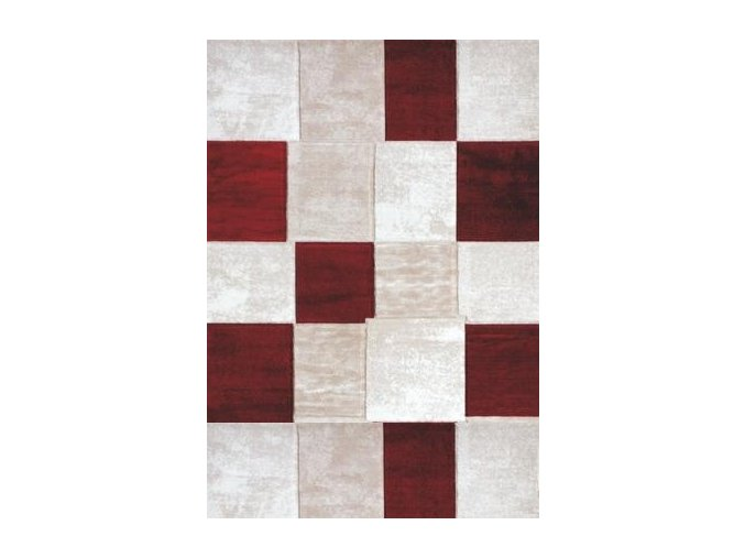 kusovy koberec topaz s red 1166 14765