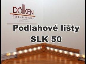Soklová lišta s kabelovým kanálkem DOLLKEN SLK 50