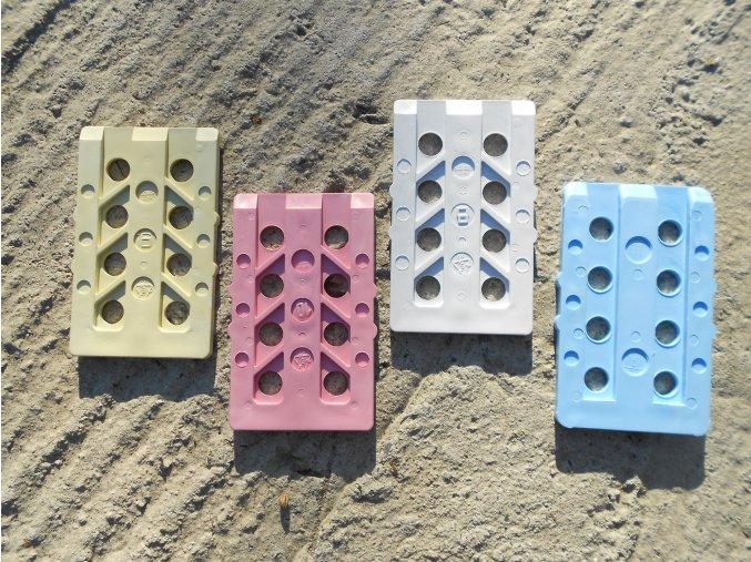 sanační klín - podložka tl. 9 mm (20 ks)  sanační klín - podložka tl. 9 mm