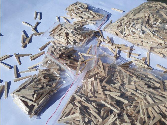 klínek dřevěný 54x5x7 (balení 1000 ks)