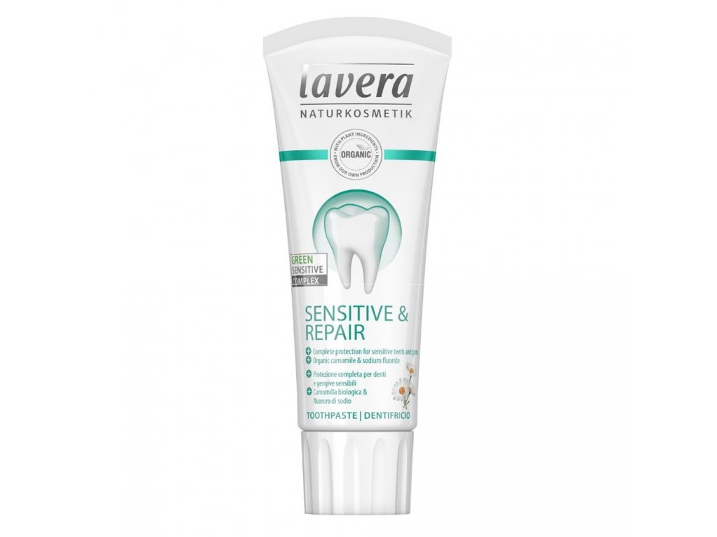 Lavera Zubní pasta - Sensitive & Repair 75 ml