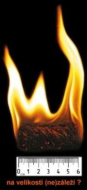 Hořící podpalovač