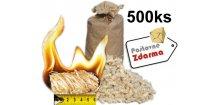 podpalovace z drevite vlny postovne zdarma