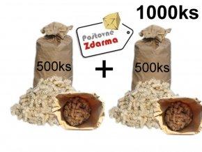 podpalovace mega pack 1000 ks
