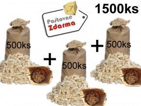 podpalovace mega pack 1500 ks