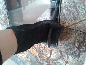 kozena rukavice pro krby kamna