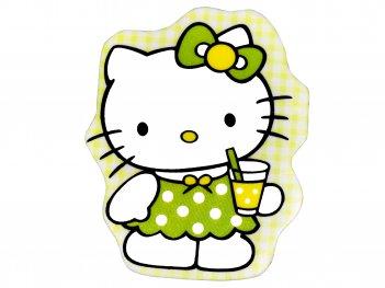 Zelená Hello kitty