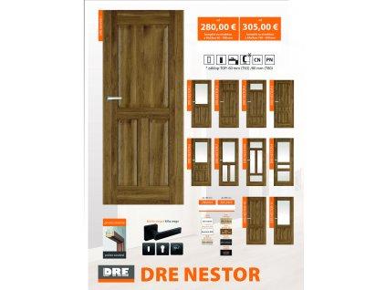 DRE NESTOR dvere+zárubňa