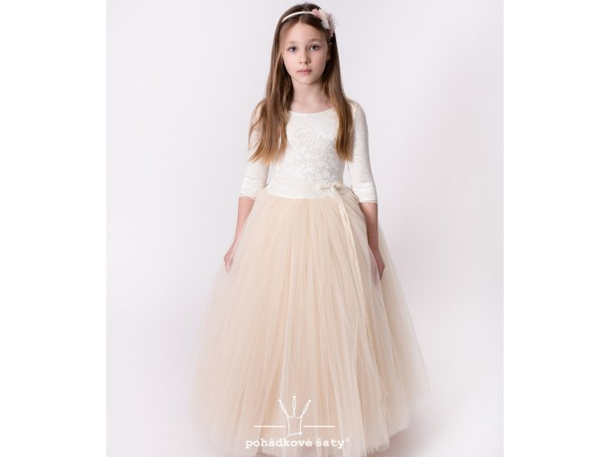 produktová šaty Vanessa cream
