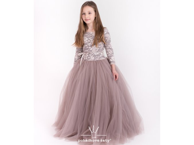 produktová šaty Vanessa taupe